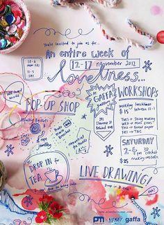An entire week of loveliness Alex. Falkiner's pop up shop at Gaffa Gallery Sydney, 2012