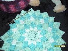 Ravelry: Sunny Daze Tunisian Entrelac pattern by Laura Pavy Tunisian Crochet Blanket, Crochet Ripple Afghan, Crochet Stitches For Blankets, Tunisian Crochet Patterns, Crochet Dreamcatcher, Crochet Mandala, Crochet Hat For Women, Free Crochet, C2c Crochet