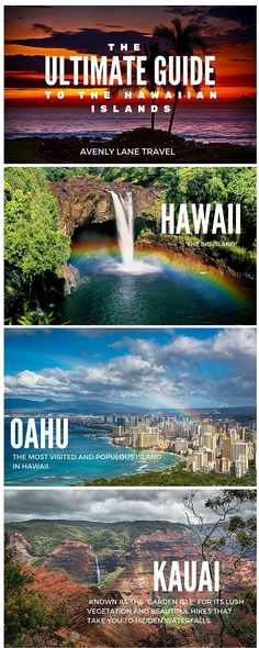 What To Expect On Each Of The Hawaiian Islands