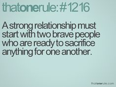 Strong relationships start with brave people.