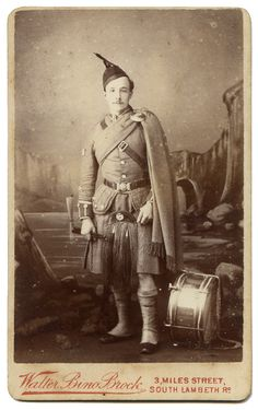 Soldiers of the Queen - Drummer of the London Scottish