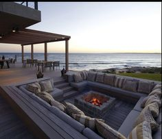 barbecue/firepit area
