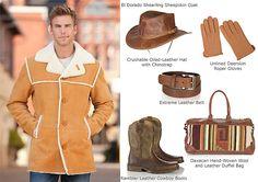 Men's El Dorado Sheepskin Coat by Overland Sheepskin Co. (style 12529)