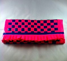 Trifold Two Tone Plus Patterned Inside Duct Tape Wallet, $25.0