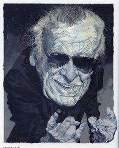 Tom Fluharty - Stan Lee from ILLUSTRATION ART
