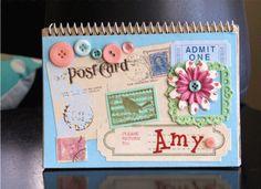DIY Vintage Notebook..