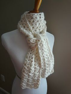24 Easy To Crochet Gift Scarves
