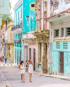 The Most Colorful Places in the World, Havana, Cuba - Mix of 16th and 17th Century Style Buildings