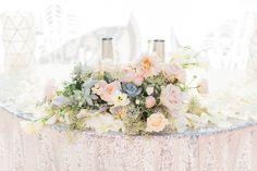 Pure Lavish Events design | Wedding | Centerpiece | Sweet Heart Table