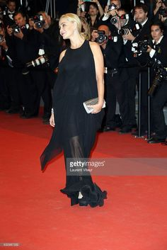 Emmanuelle Beart attends the 'It's Only The End Of The World (Juste La Fin Du Monde)' Premiere during the 69th annual Cannes Film Festival at the Palais des Festivals on May 19, 2016 in Cannes, France.