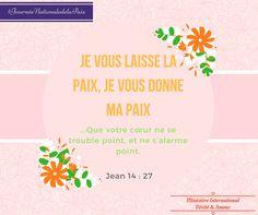 Nous proclamons la Paix de JÉSUS dans nos cœurs et en Côte d'Ivoire! #JournéeDeLaPaix