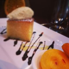 Cointreau and olive oil with whipped ricotta, and . Oil Cake, Italian Style, Woodstock, Sorbet, Ricotta, Olive Oil, Cheesecake, Wine, Orange