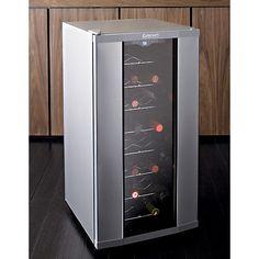 Cuisinart ® 32-Bottle Wine Cooler  sc 1 st  Pinterest & Crate u0026 Barrel Cuisinart ® 8-Bottle Wine Cooler | Crates Barrels ...