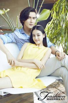 Vengo Gao and Dilraba Dilmurat make such a charming couple in this photoshoot~