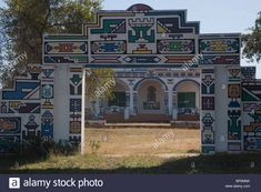 ndebele houses - Google Search Environmental Art, Houses, Mansions, Google Search, House Styles, Home Decor, Homes, Decoration Home, Manor Houses