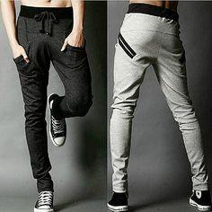 Sarouel hommes New Style : mode Casual classique Slim Fit Skinny hommes de jogging pantalon de survêtement Sarouel Homme hommes Jogger pantalons(China (Mainland))