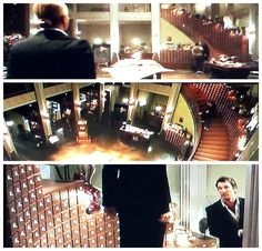 "The glorious card catalog from the set of ""The Librarians"" -- I want to move in!  Totally agree with the author of the click-through, ""First impressions:  The Librarians"": ""Oh, and I didn't want to forget to mention one of the major stars of the show, as far as I was concerned:  the totally awesome card catalog that wraps along one side of the staircase in the library office."" See more shots of this amazing set here: http://randalgroves.com/the-librarians-season-1-card-catalog-permanent-set"