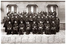 Studenti laureandi in Teologia (1940).