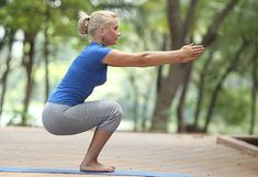 Yoga for cyclists : Utkatasana (Chair pose)