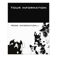 free dog walking flyers | Dog walker Flyer from Zazzle.com