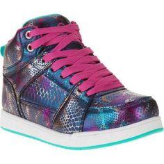 OP Girl's Fashion Skate Sneaker, Size: 6, Blue