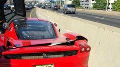 Mechanic Takes Rare Ferrari for Joyride, Crashes Into Wall