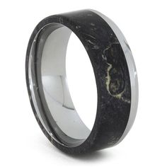 Hey, I found this really awesome Etsy listing at https://www.etsy.com/listing/205320051/black-box-elder-burl-and-tungsten-ring