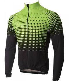 Buy Stolen Goat - Mens Long Sleeve Thermal Cycling Jersey - Green Fizz 317ea1126