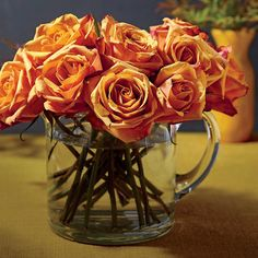 The Grocery Store Florist: The $25 Rose Display