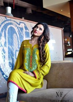 nadia farooqui eid collection 2015 -