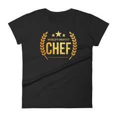 Women's World's Okayest Chef t-shirt , chef gift, gift for chef, cooking gift, hostess gift, foodie gift, cook gift, chef gifts, chef tshirt #FoodieGift #ChefTshirt #CookingGift #ChefGift #HostessGift #ChefGifts #CookingGifts #GiftForCook #GiftForChef #CookGift