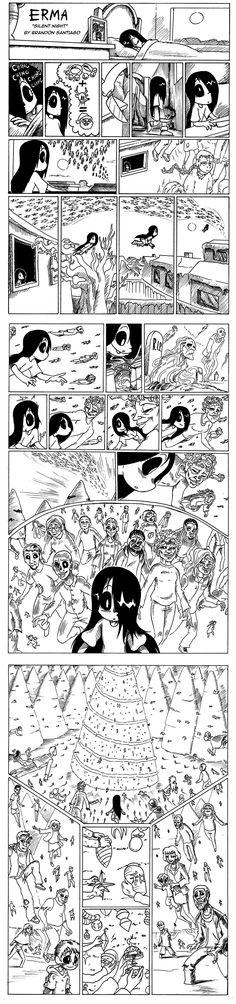 Erma :: Erma- Silent Night   Tapastic Comics - image 1 (my feels)