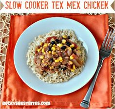 This recipe for All Day Tex Mex Chicken is one of those Mexican chicken slow cooker recipes that's easy to prep in a pinch, and then you can...