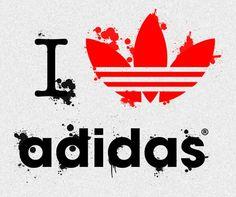 I just love adidas