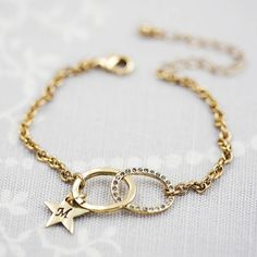 Personalised Infinity Charm Bracelet from notonthehighstreet.com
