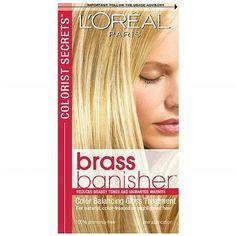 L'Oreal Paris Colorist Secrets Brass Banisher Color Balancing Gloss Treatment - 1 ea