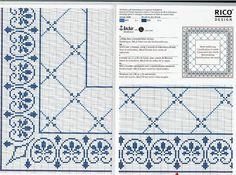 ru / Photo # 77 - a scheme - irisha-ira Cross Stitch Borders, Cross Stitch Flowers, Cross Stitch Charts, Cross Stitch Designs, Cross Stitching, Cross Stitch Embroidery, Embroidery Patterns, Cross Stitch Patterns, Swedish Weaving