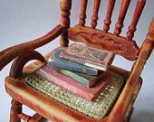 Idea to make caned seat from cross-stitch fabric
