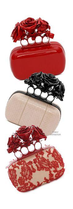 Alexander McQueen Knuckle Box Clutchs   Purely Inspiration