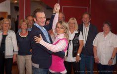 """Tanzlehrer und Tanzschulinhaber Uwe Kaufmann (47) mit Tanzlehrerin und Lebensgefährtin Anita Serra Mock (42) von der Tanzschule """"Für Sie"""" http://blog.ks-fotografie.net/veranstaltungsfotografie/25-jahre-tanzschule-fuer-sie-kassel/"""