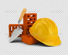 Buy Helmet with Bricks and Trowel by AnatolyM on GraphicRiver. Helmet with bricks and trowel. Transparent high resolution PSD with shadows. Graphic Design Flyer, Graphic Design Templates, Print Templates, Ramadan Kareem Pictures, Master Bath Shower, Object Drawing, Cartoon People, Alpha Channel, Social Media Graphics