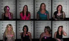 Best bachelorette party picture ever!!... we have to do this  .. a before and after!!! I could totallymake this!!!