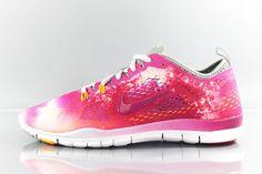 buy popular 87961 e9669 Nike Womens Free 5.0 TR Fit 4 Print Running Shoes New Fusion Pink  629832-100  Nike  RunningCrossTraining