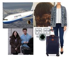 """Flying to California with Alex for vacation"" by amelia-of-scotland ❤ liked on Polyvore featuring Monsoon, Plane, BERRICLE and Bric's"