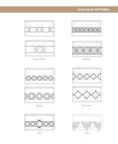 Nailhead+Pattern | Nailhead Patterns