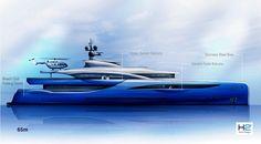 Dörries Yachts unveils new 65 metre superyacht concept - Design - SuperyachtTimes.com