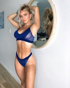 Shop the latest arrivals at SHEIN, always stay ahead of the fashion trends. Hundreds of new looks updated every day! Women's Dresses, Sexy Bikini, Bikini Girls, V Instagram, Hot Blondes, Beauty Women, Sexy Lingerie, Sexy Women, Blondes