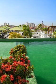 Hotel Monterrey, Cartagena, Colombia. #TravelwithHSN