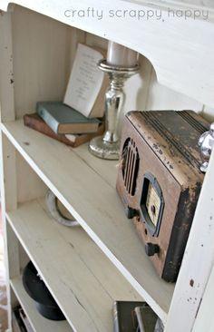 5 Shelf Decorating Tips at Crafty Scrappy Happy