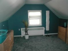 1000 images about painting upstairs ideas on pinterest for Painting rooms with angled ceilings